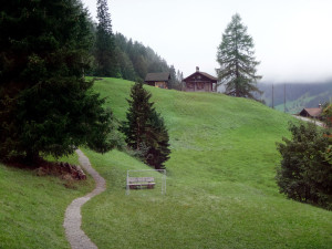 Hiking path leading to/from Our Chalet