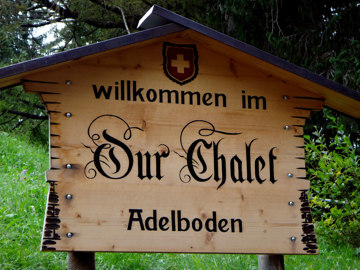 Abelboden:  Our Chalet