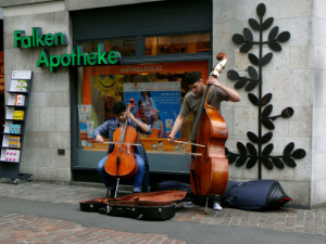 Street musicians - really talented!