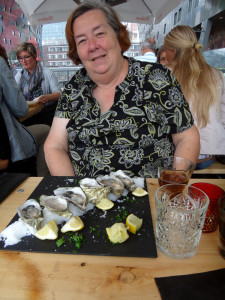 Oysters for Maureen