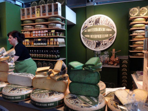 One of the cheese shops