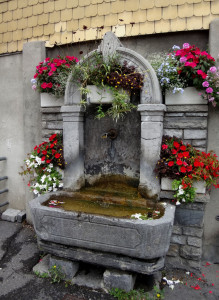 Fountains like this dot every city center all over Europe. The water is drinkable and we often refilled our water bottles with free, crystal clear water.