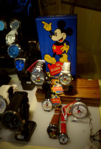 Watches are available throughout Switzerland - but it's Mickey Mouse!