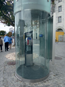 Phone booth Lucerne, Switzerland