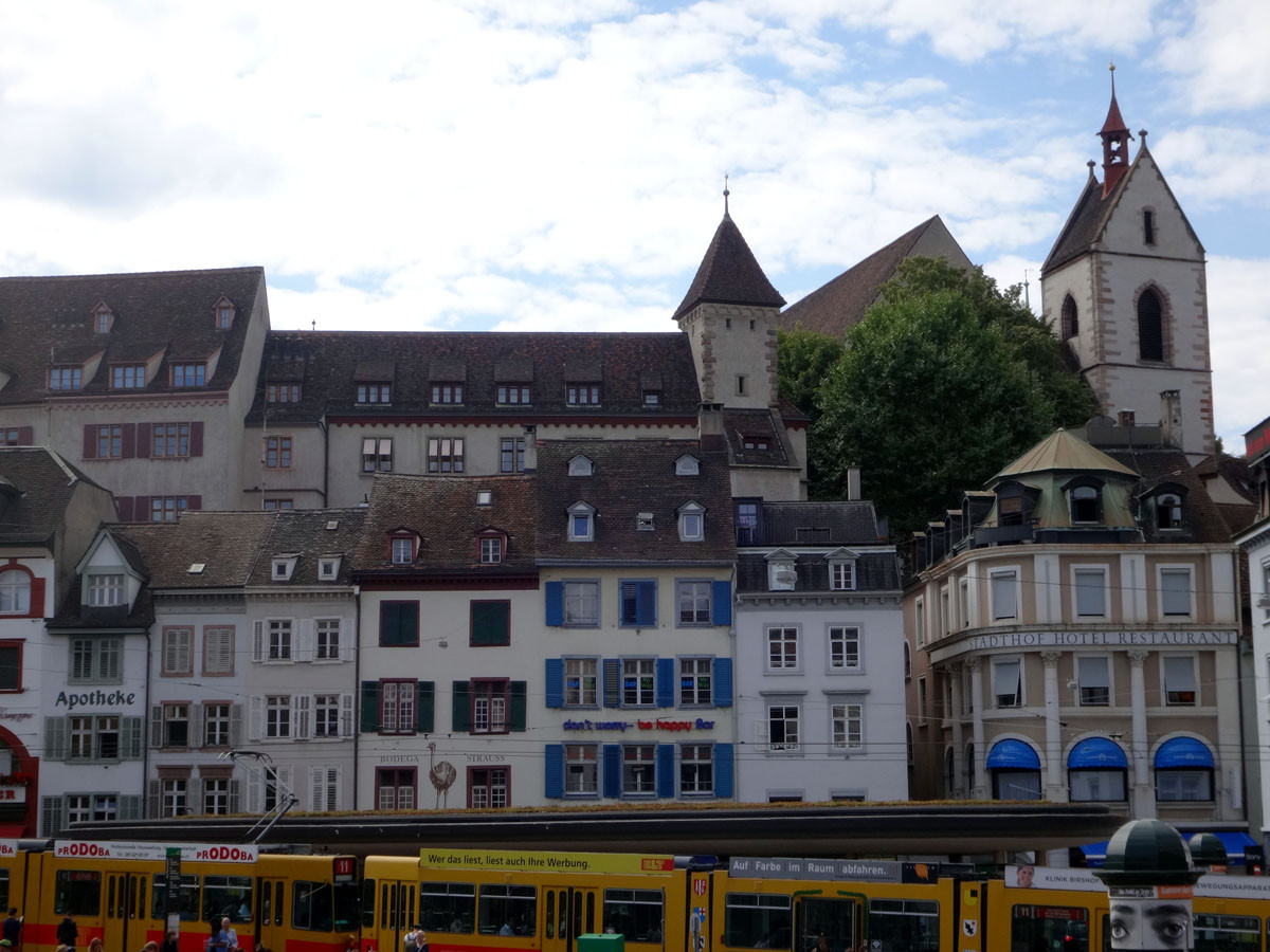 Basel… Who wouldda thought this town could be so much fun!