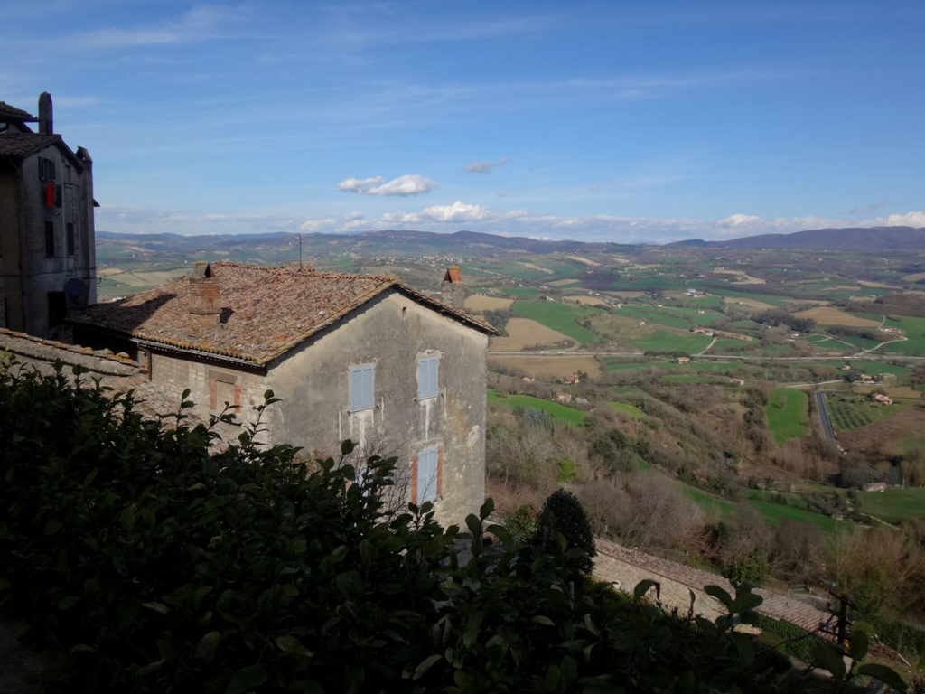 Hilltop view from Todi, Italy 2016.