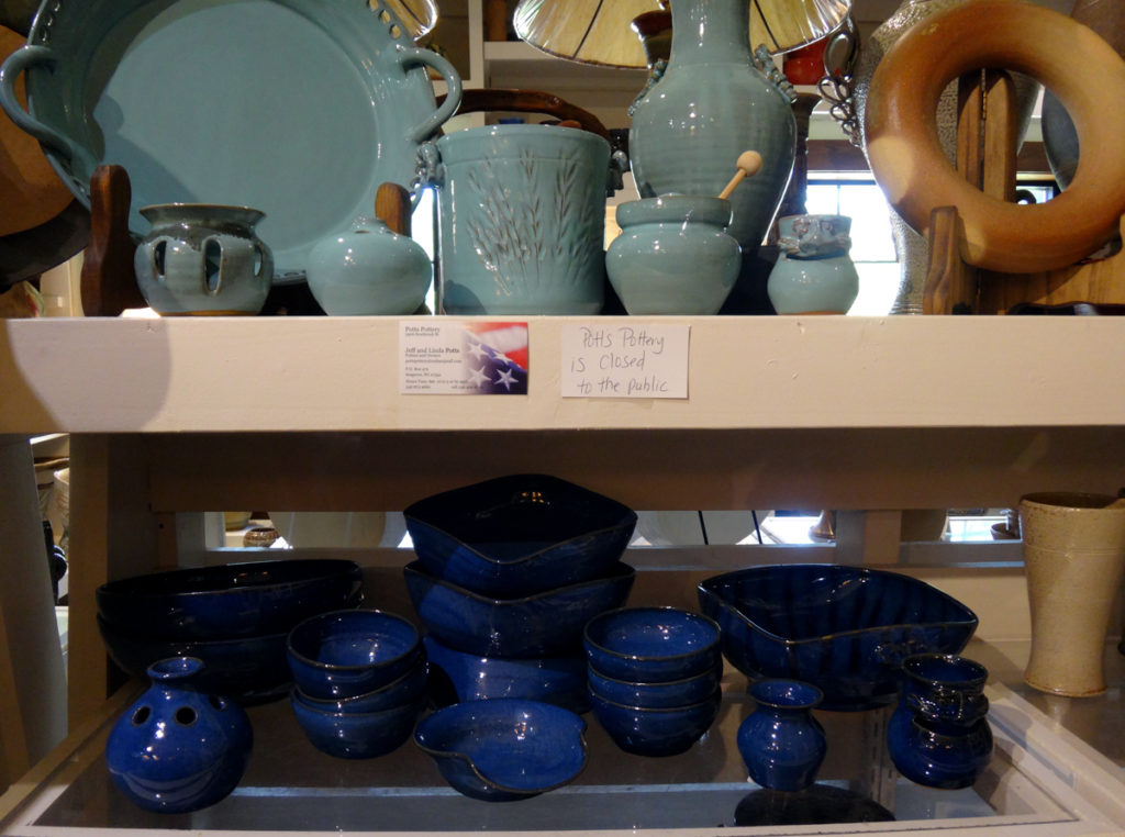Potts Pottery at Seagrove Creations Pottery