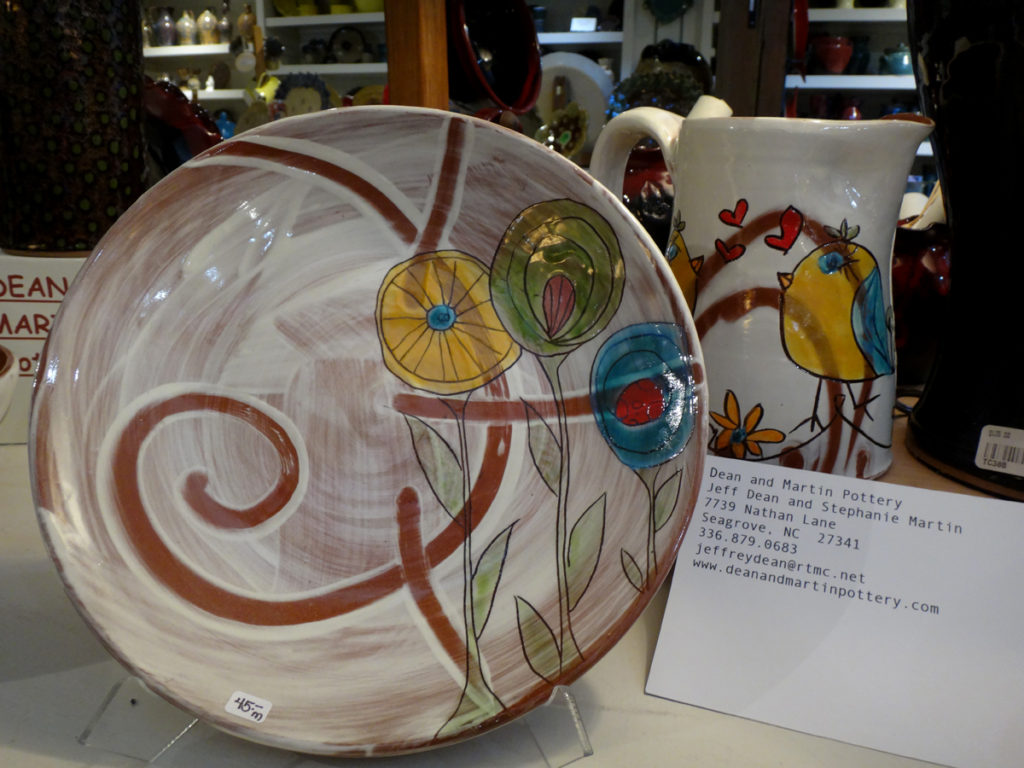 Dean & Martin Pottery at Seagrove Creations Pottery