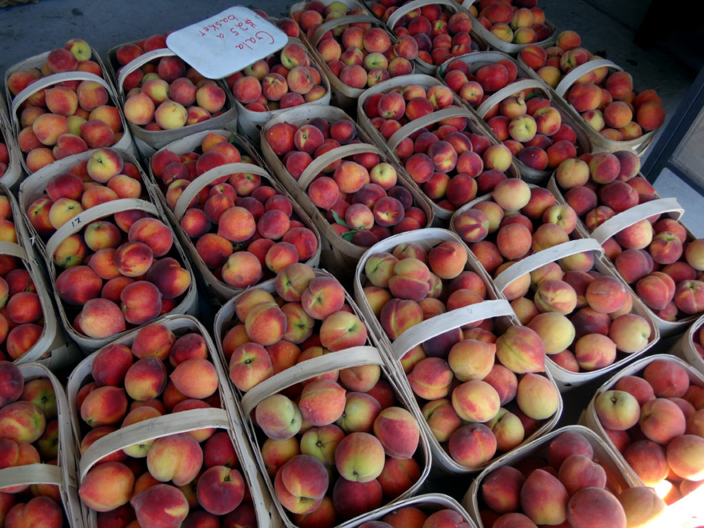 Peaches - West End, NC