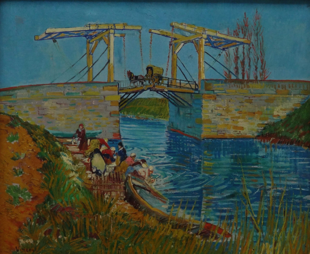 Kroller-Muller Van Gogh Bridge at Arles 1888 DSC00917