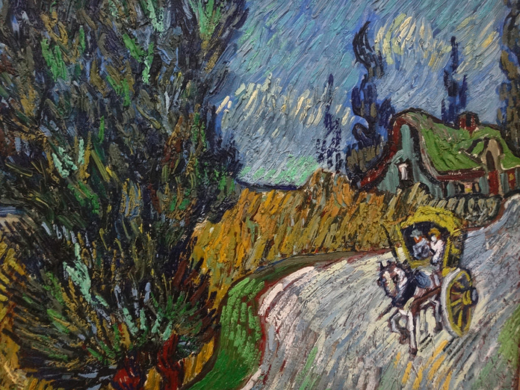 Kroller-Muller Van Gogh Country Road in Provence by Night 1890 DSC00923