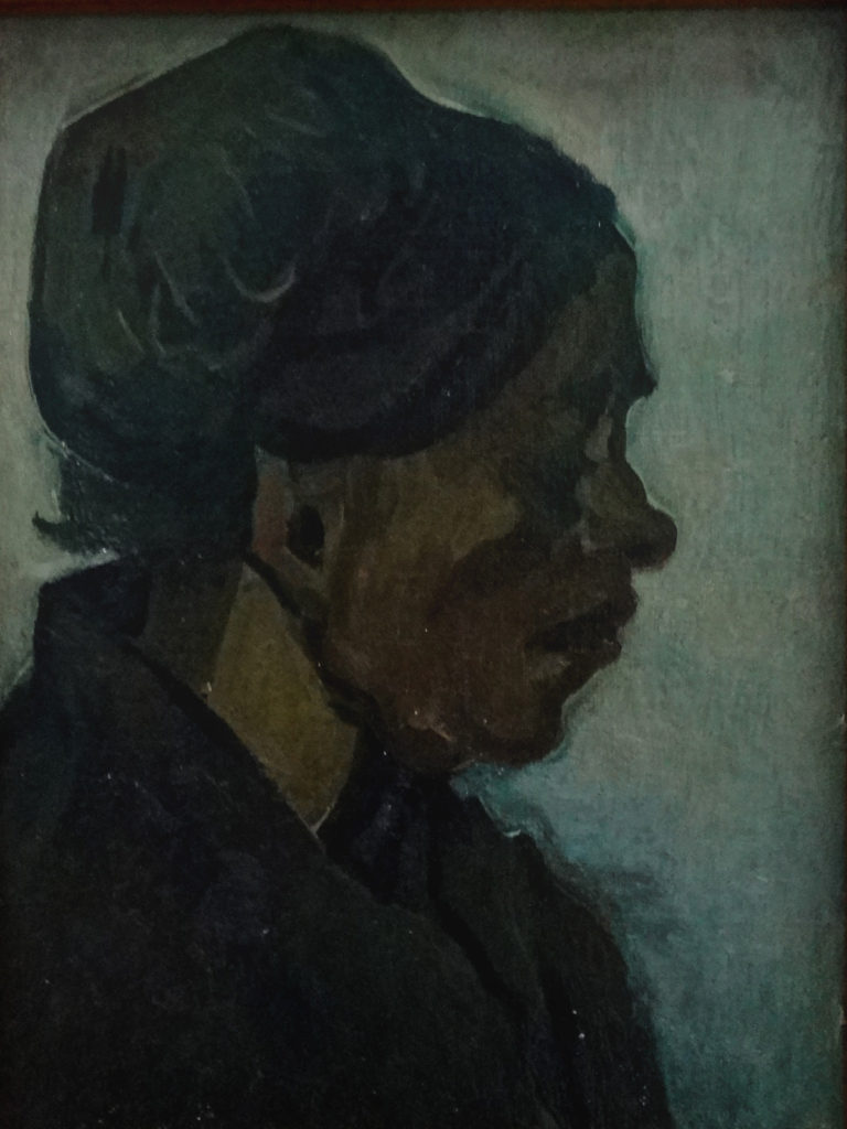 Kroller-Muller Van Gogh Head of a Woman 1885 DSC00867