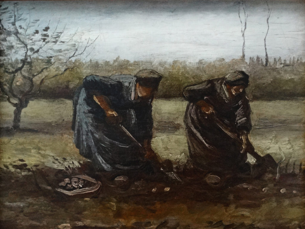Kroller-Muller Van Gogh Peasant Women Digging up Potatoes 1885 DSC00865