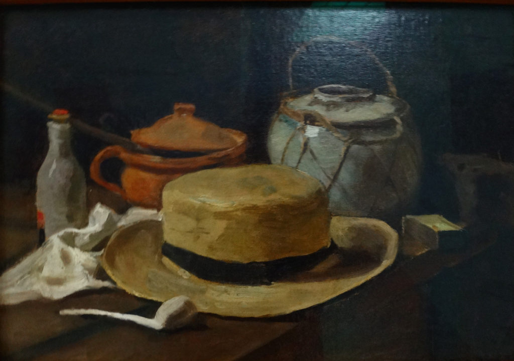 Kroller-Muller Van Gogh Still Life with Straw Hat 1881 DSC00860