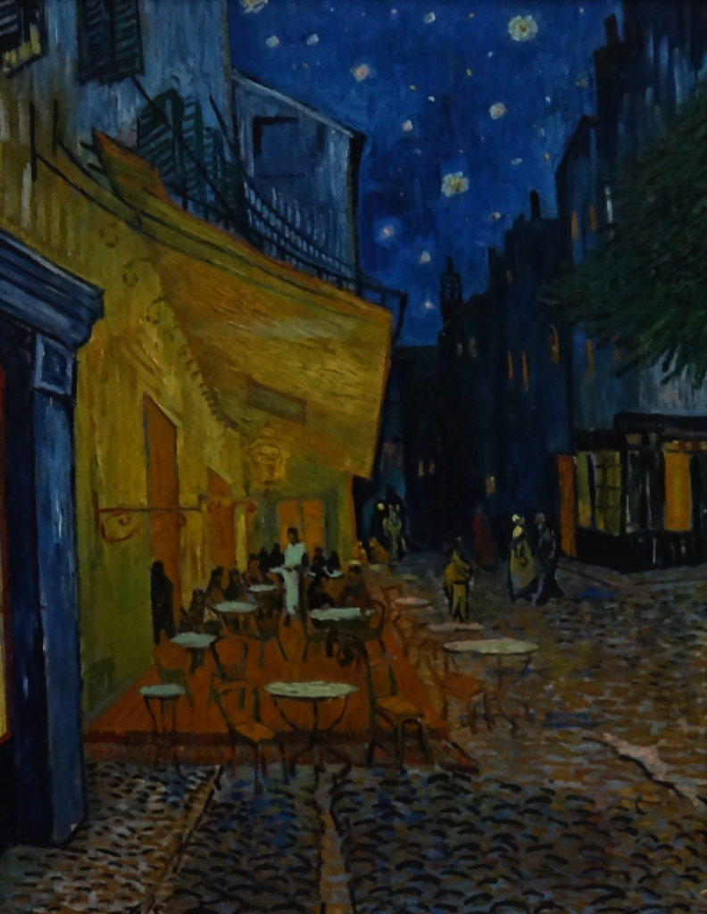 Kroller-Muller Van Gogh Terrace of a Cafe at Night 1888 DSC00885