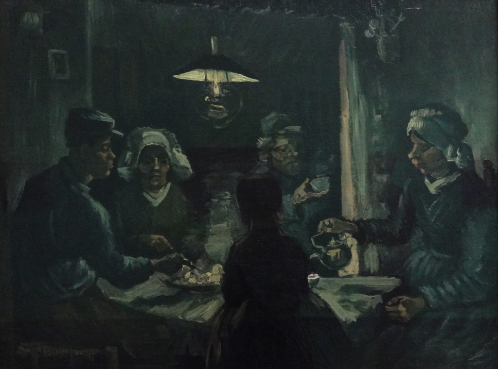 Kroller-Muller Van Gogh The Potato Eaters 1885 DSC00870