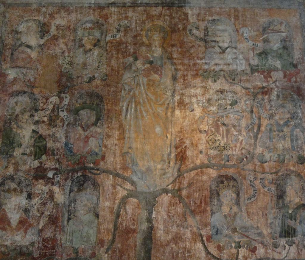This tapestry depicting Jesus' lineage dated from the mid 1500's.