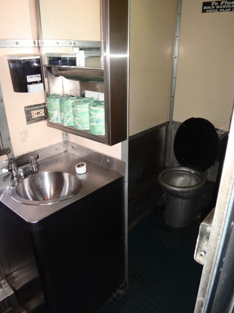 I knew you would want to see the toilet facilities - here you go.
